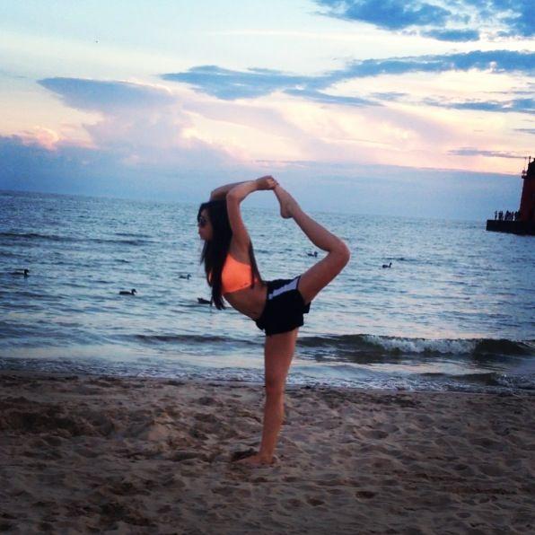 #cheer #scorpion #beach #sunset