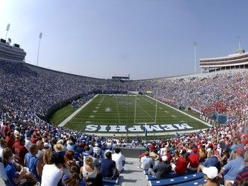 The Liberty Bowl located in Memphis, TN  hosts the Memphis Tigers.