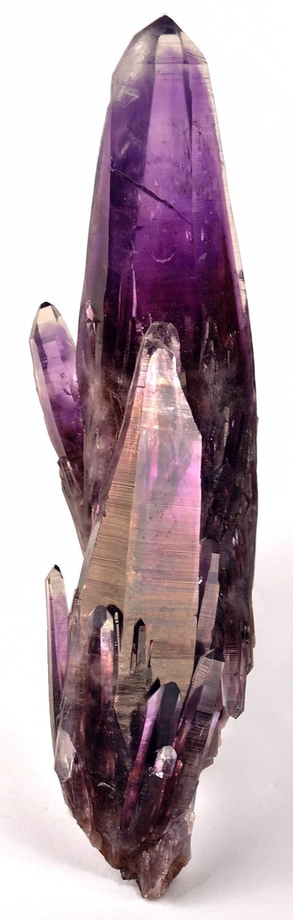amethyst  color photography   the amethyst is a deep purple and the shade varies on the crystal