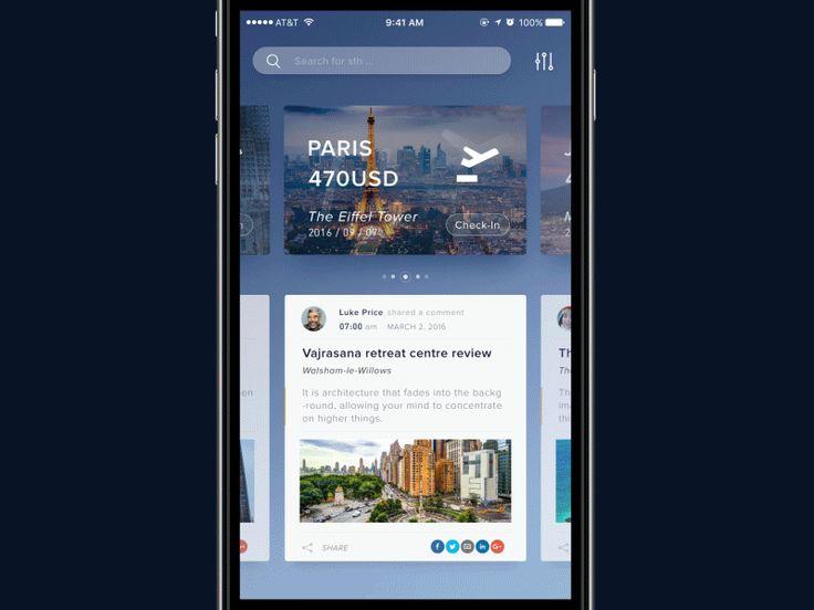 UI Interactions of the week #38 — Muzli -Design Inspiration