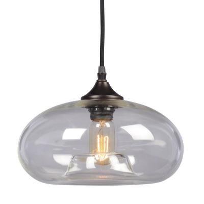 Filament Design Egan 1-Light Bronze Pendant-CLI-XY257919 - The Home Depot