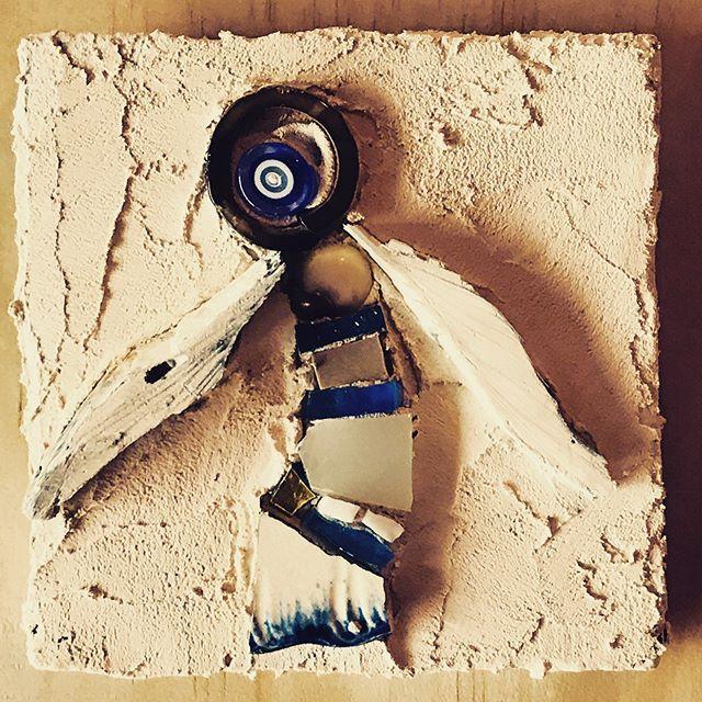 #mosaicart mini#blue💙 😇 #angel