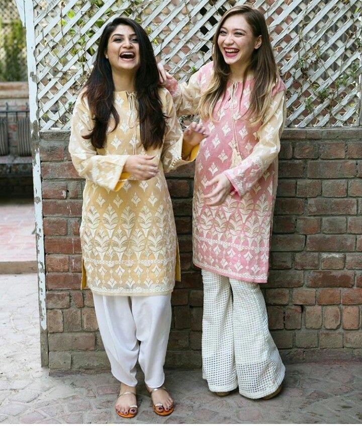 Pakistani Eid outfits by Maheen Ghani Taseer.