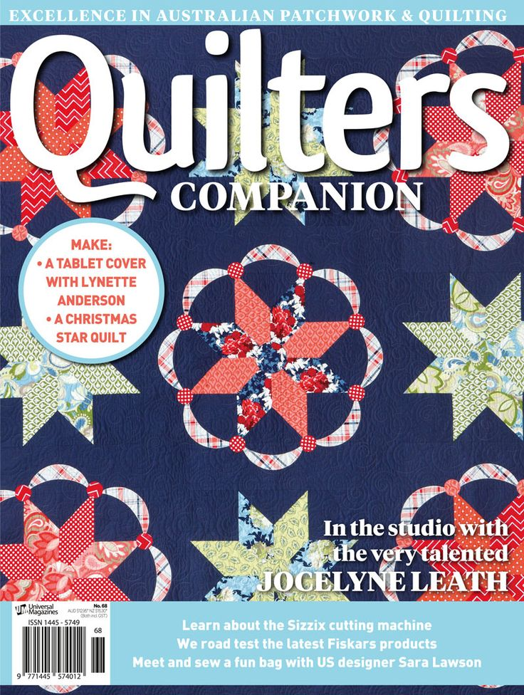 Quilters Companion #68 cover