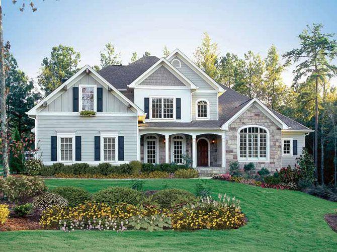 Pretty american house