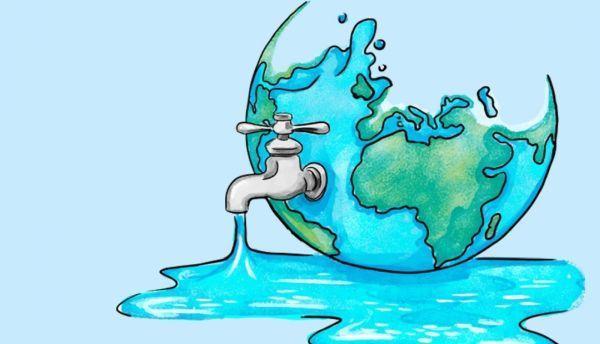 Descubre por que el agua es una de las cosas más raras del Universo |  Desperdicio de agua, Dibujos de agua, Arte en agua