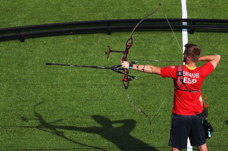 Day 1: Archery Men's Team - Antonio Fernandez of Team Spain