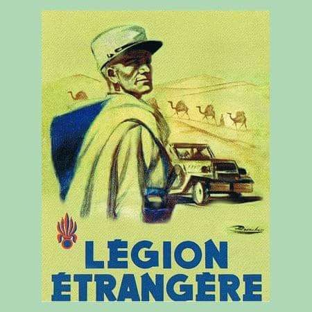 how to join the french foreign legion as an american
