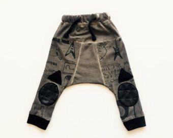 Boys joggers pants // Harem for toddlers // Boys door TULIBERT
