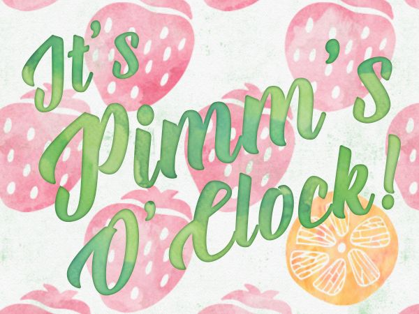 Pimm's O'Clock   A Year In Landscape
