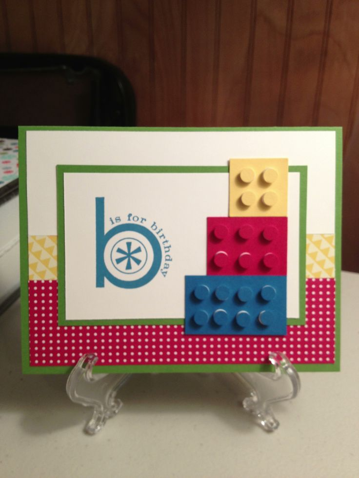 Pin by Abby Jarvis on HMCs with Abby Lego birthday cards
