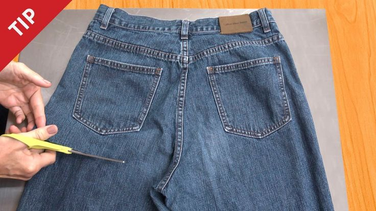 I Thought She was Cutting These Jeans WAY Too Short But When I Saw Why…GENIUS!!
