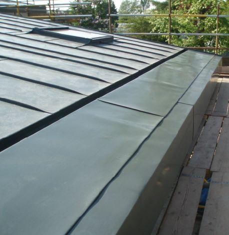 Zinc Roof Detail To Home Pinterest Zinc Roof