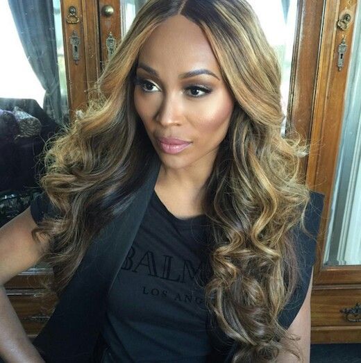 Cynthia Bailey Get Cynthia's look with our hair extensions that can be colored to any color of your choice @ www.hairlady.co.uk