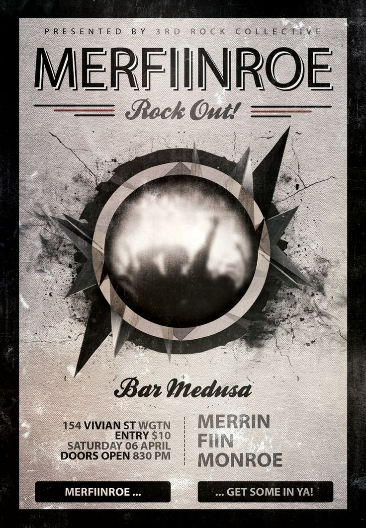 A 'show' gig we did with 2 other bands that are/were mates of ours. 'Were' = FIIN aren't together anymore. #Rock #Wellington