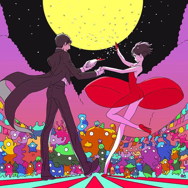 twpunk:  ▌トップイラスト by 市川春子|星野源オフィシャルサイト2014-11-18 (公開) イラスト: 市川春子 (Haruko Ichikawa/漫画家)