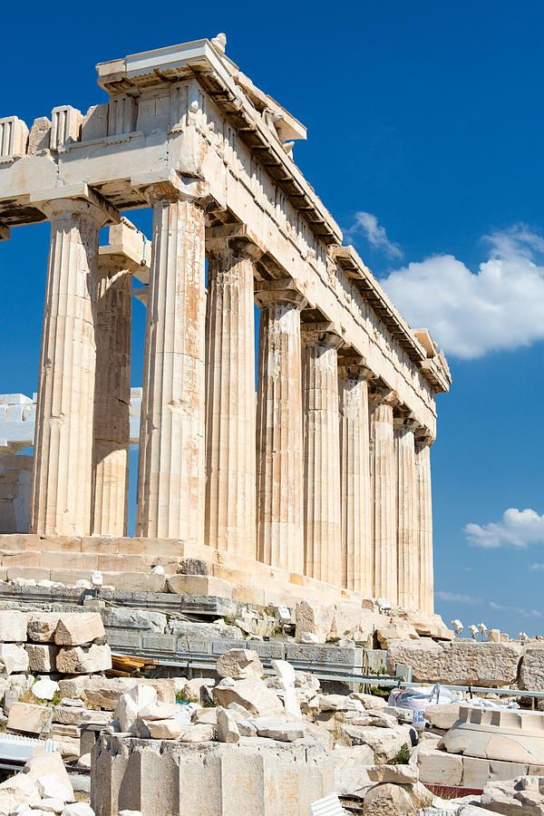 The Acropolis in Athens, Greece (Completed: Summer 2013)