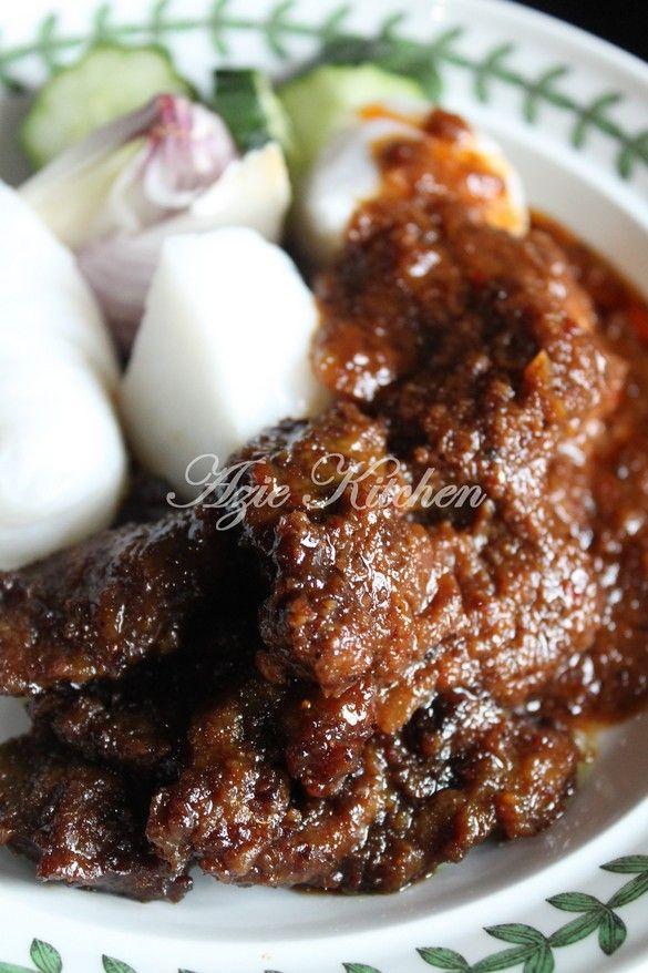 Azie Kitchen: Satay Goreng