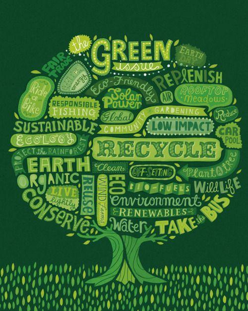 all about Green via @Barbara Ziegler