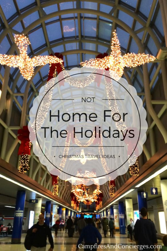 Christmas Travel - ideas for holiday vacations, from tropical to alpine. Colorado, Galapagos, Hawaii, Virgin Islands, Baja Mexico
