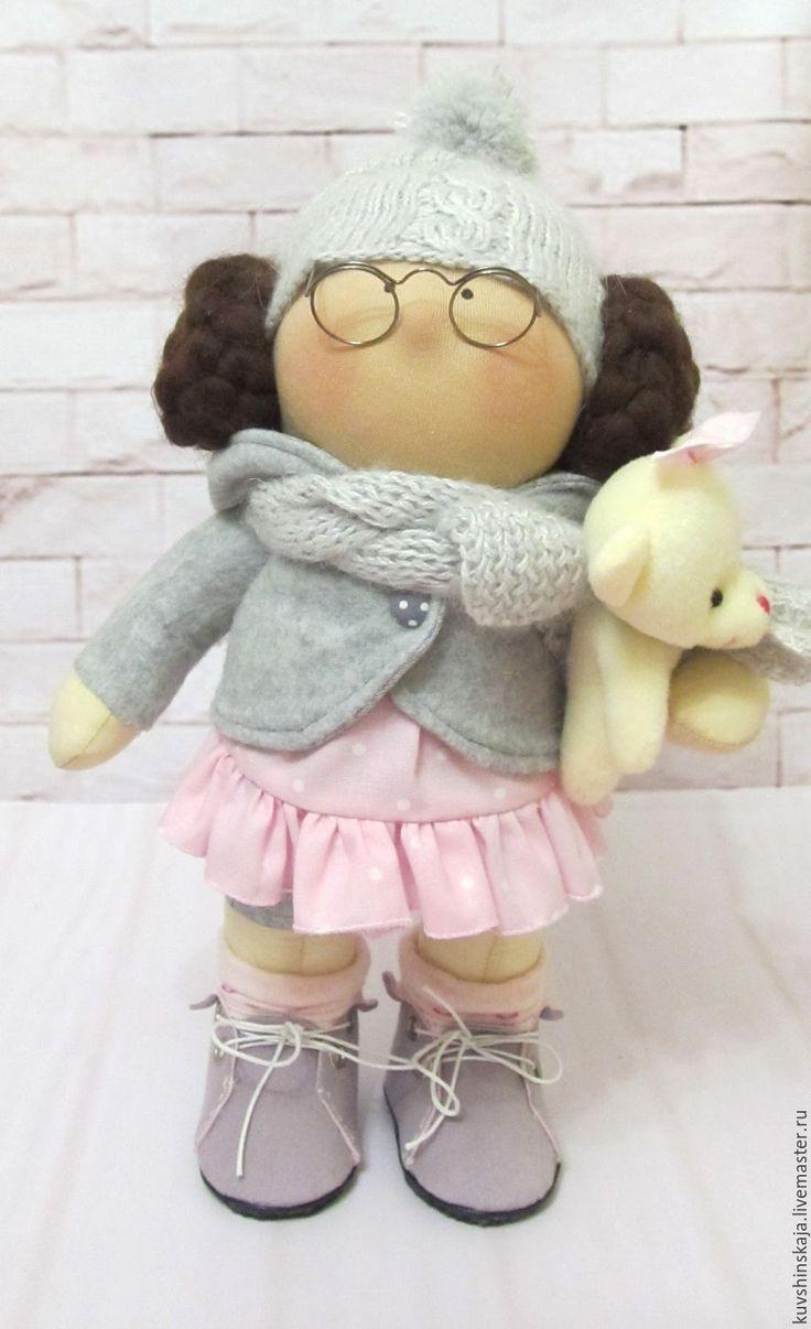 Купить Кукла Соня - комбинированный, кукла ручной работы, кукла интерьерная, кукла текстильная