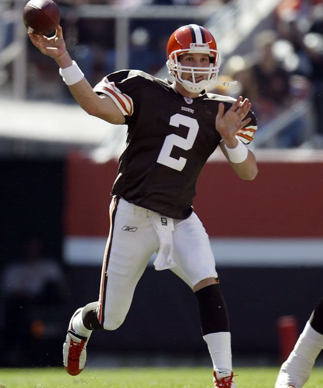 Tim Couch Browns | Tim Couch and Courtney Brown
