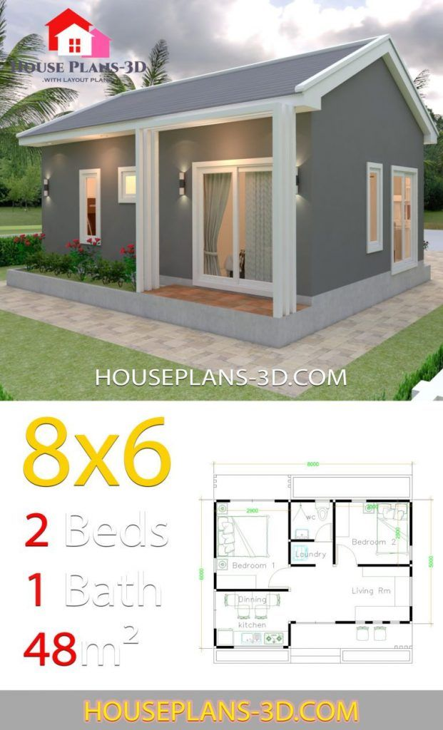 Pin By Magus Chica On Plantas De Casas In 2020 House Plans Bedroom House Plans Small House Design Plans