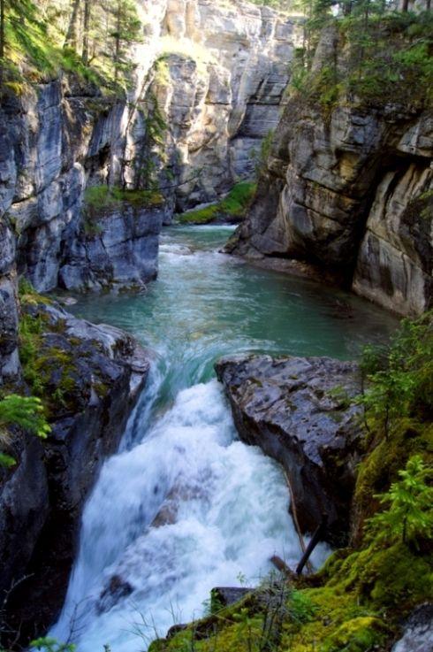 Maligne Canyon - Jasper, Alberta, Canada;  photo by JenniFerT