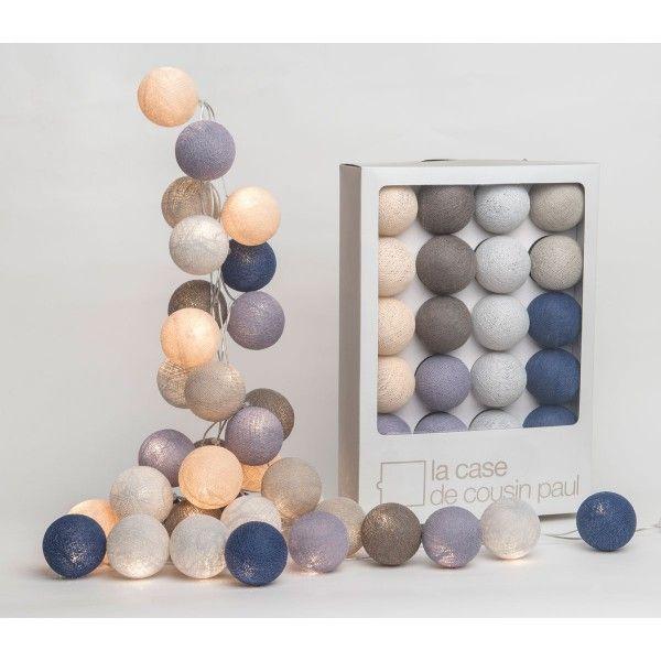 fabulous guirlande lumineuse bleu erquy with guirlande. Black Bedroom Furniture Sets. Home Design Ideas