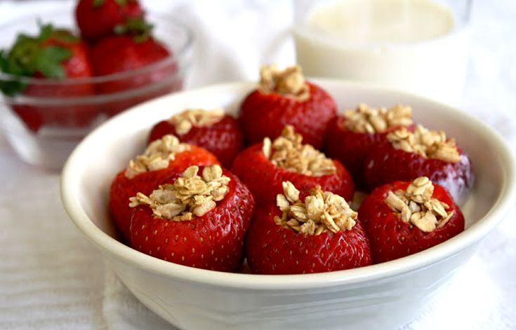 Recept: Gevulde Aardbeien
