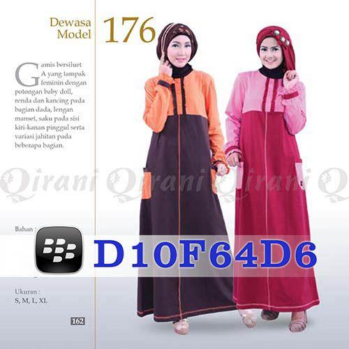 Gamis Qirani Dewasa Model 176 Hubungi 085732697004 PIN BB D10F64D6