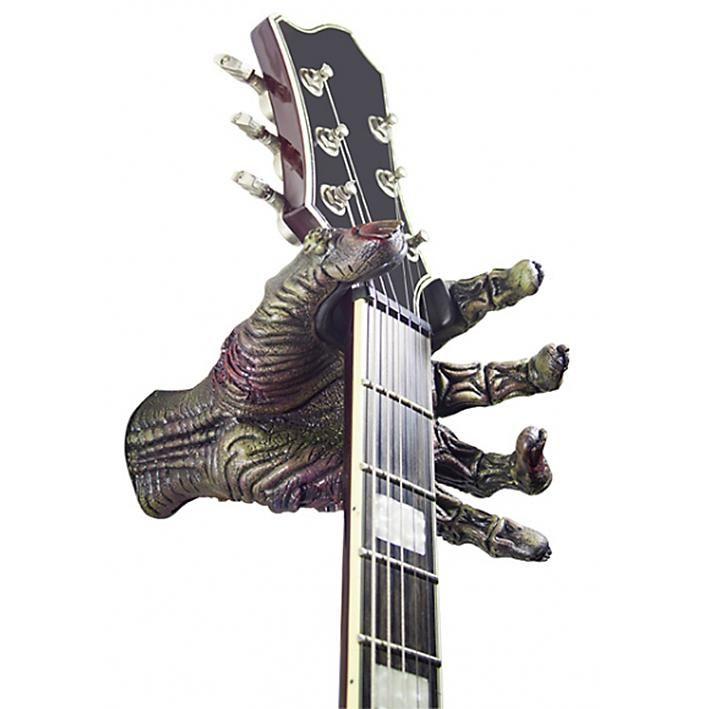 """#Gancio da parete per chitarra """"Axcent Serie Zombie""""."""