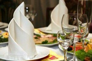 la décoration de table par le pliage de serviettes