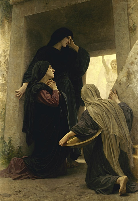 Three Marys at the Tomb by William Aldophe Bouguereau