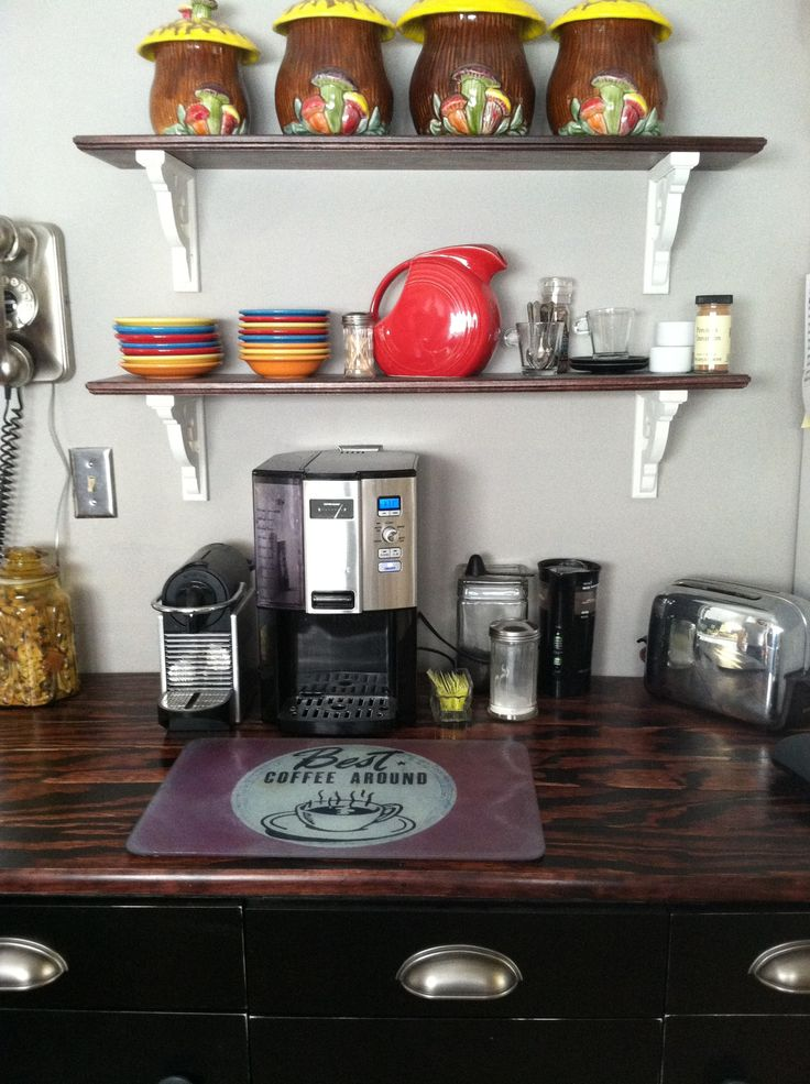 41 Best Coffee Bar Images On Pinterest Coffee Nook