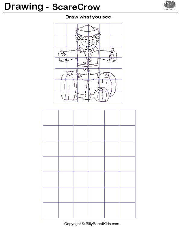 64 Best Images About Grid Drawing On Pinterest