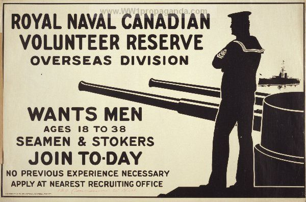 Examples of Propaganda from WW1 | Canadian WW1 Propaganda Posters Page 21