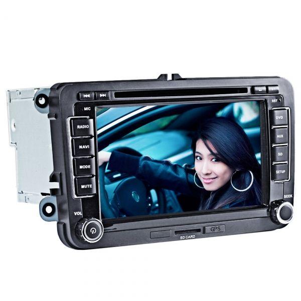 Specifications This car DVD player is compatible with the following models Passat 2007-2009 Passat CC 2008-2012 Golf V 2003-2012 Golf VI 2008-2012 Golf Plus 2003-2009 Golf MK5 2003-2012 Tiguan 2007-2012 Caddy 2004-2012 Jetta 2005-2012 EOS 2006-2012 T5 Transporter 2010-2011 Skoda Pat...