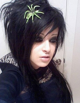 185 best emo hairstyles images on pinterest