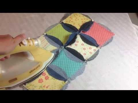 No Quilting Required Quilt? WOW! Denim Circles into a Unique Rag Quilt! 4 Video's & Includes a Place Mat Tutorial! - Page 3 of 5 - Keeping u n Stitches Quilting | Keeping u n Stitches Quilting