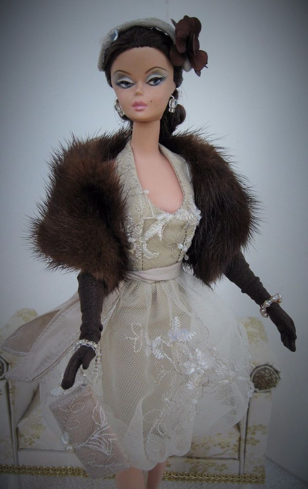 Bill Tanner OOAK Fashion for  Silkstone Barbie Victoire Roux and similar size