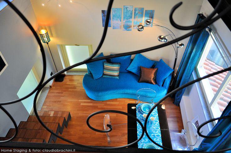 RINGHIERA MANCORRENTE LIBERTY DIVANO TURCHESE SOPPALCO turquoise sofa