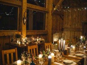 Mariage grange - Mariage à la montagne - Table banquet -L'Atelier Atypique© | Wedding Planner Ain | Lyon | Rhône-Alpes  ©Zéphyr et Luna