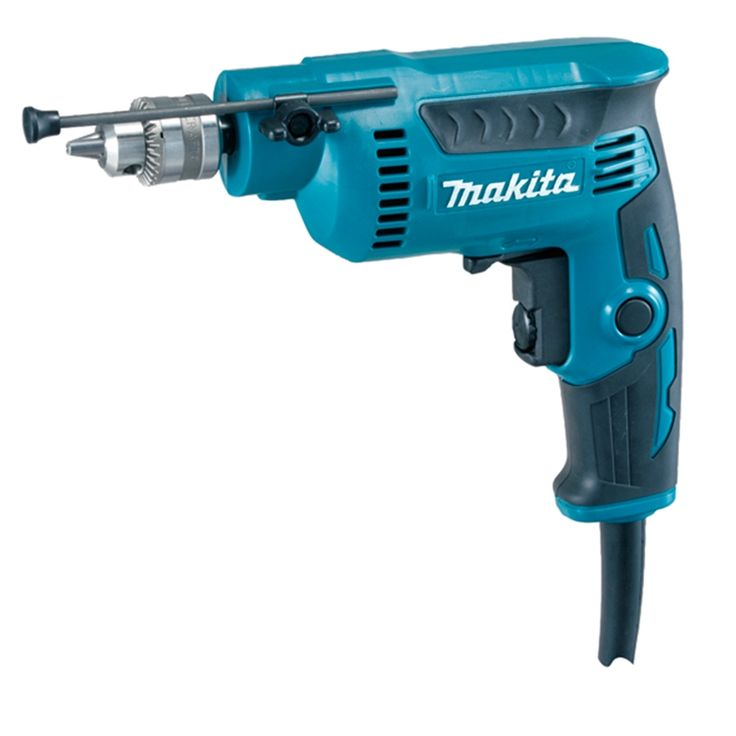 Makita DP2010 taladro 370 W, portabrocas 0,5 - 6,5 mm y 0 - 4200 rpm