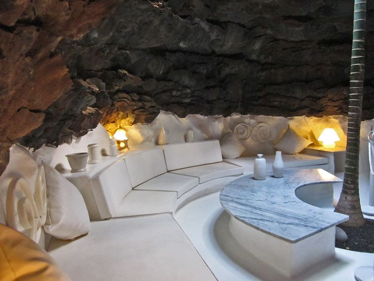 The house of Cesar Manrique, built in a volcanic bubble on Lanzarote, Canary Islands, Spain