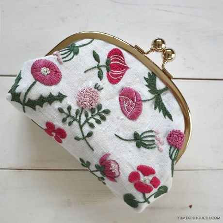Japan Hand Crochetted Clutch