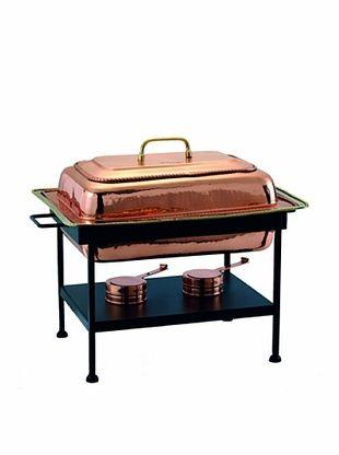 58% OFF Old Dutch International 8-Qt. Rectangular Copper Chafing Dish