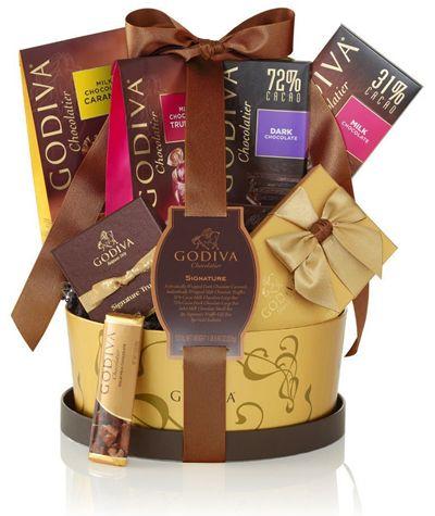Chance to Win a Godiva Chocolatier Signature Basket!