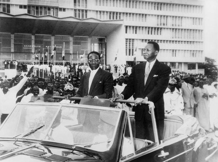 SENEGAL - President Senghor & Mamadou Dia
