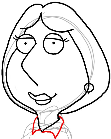 how to draw meg griffin easy